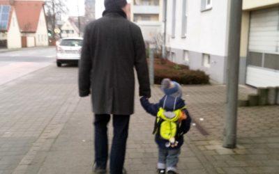 Einer von den Großen: Die ersten Tage als Kindergartenkind