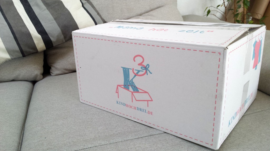 Kindhochdrei - Testkauf, Kinder Kleiderservice, Paket Kind hoch drei