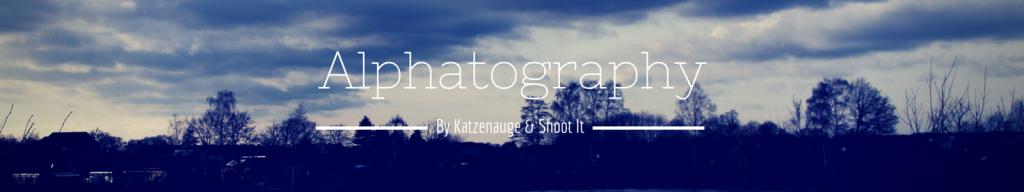 Fotoprojekt - Alphatography - Banner