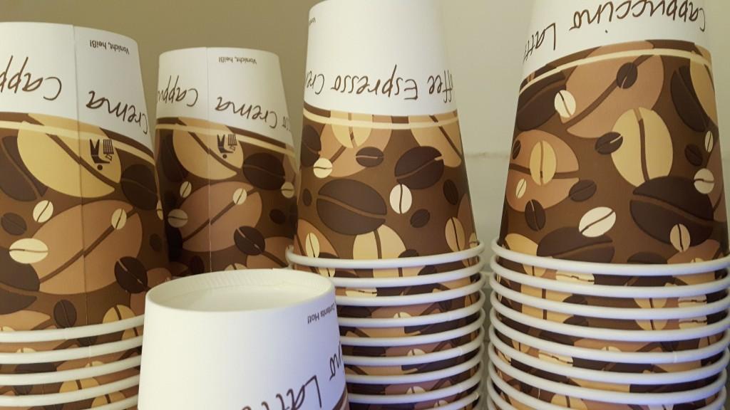 Fotoprojekt - Alphatography - Espresso, Kaffee to go, Kaffeebecher