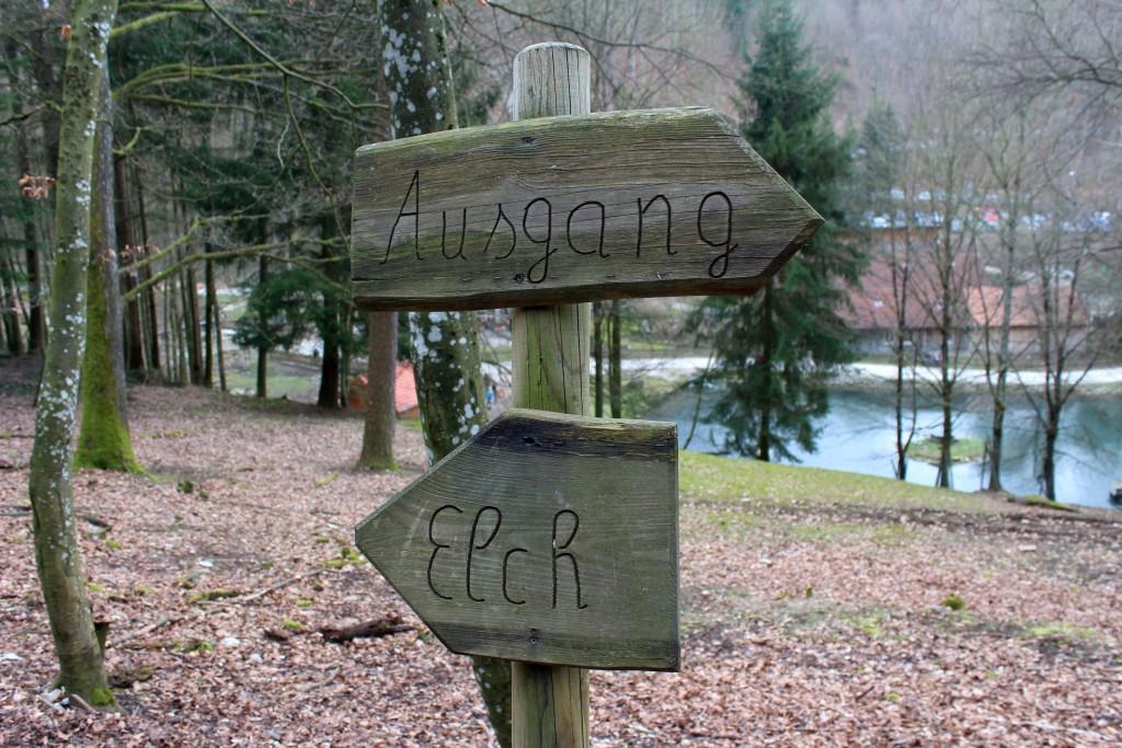 Wildpark Hundshaupten Fränkische Schweiz Familienausflug Osterausflug