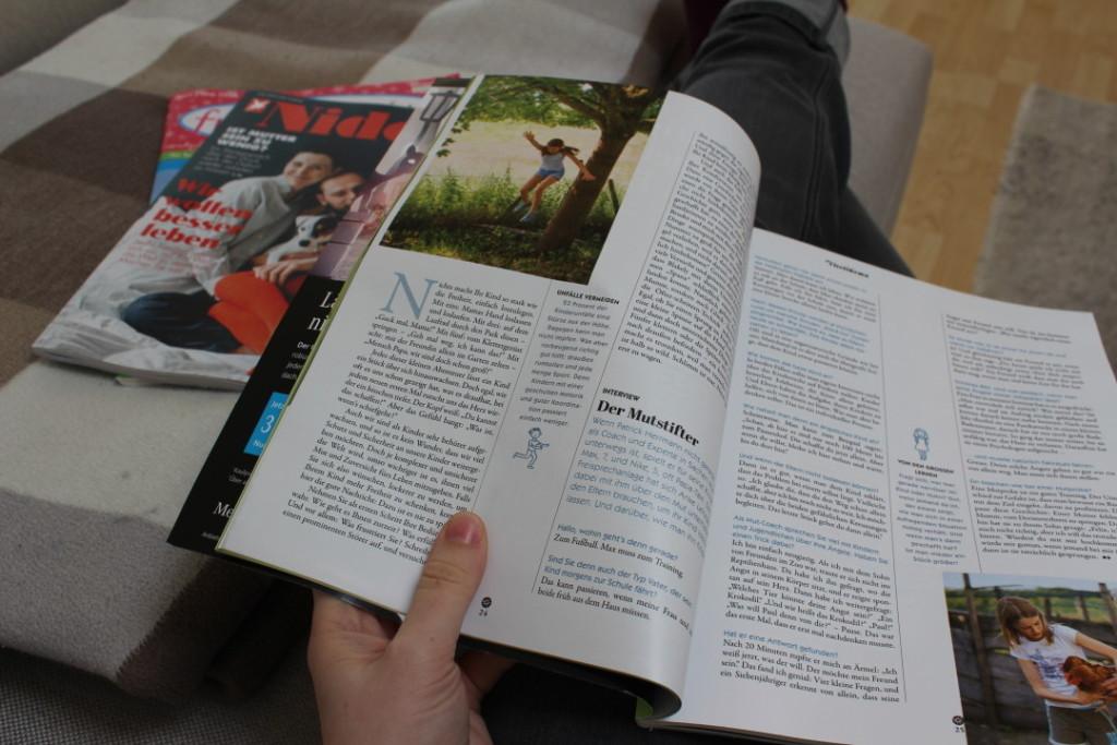 12in12 - Alltag in Bildern April 2016 - 07 - Lesestoff Lektüre