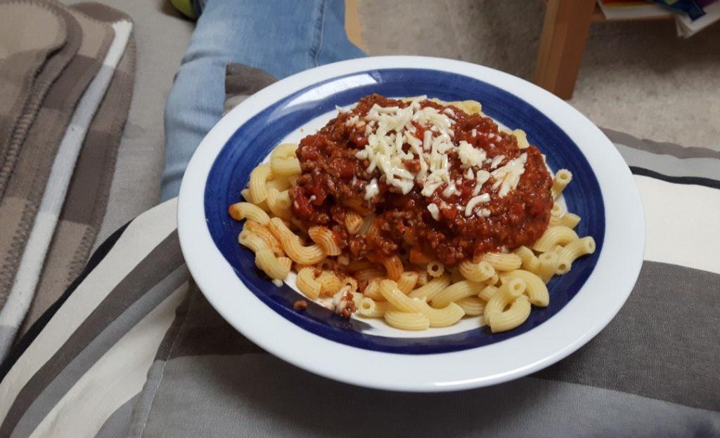 12in12 - Familienalltag - Mittagessen Spaghetti
