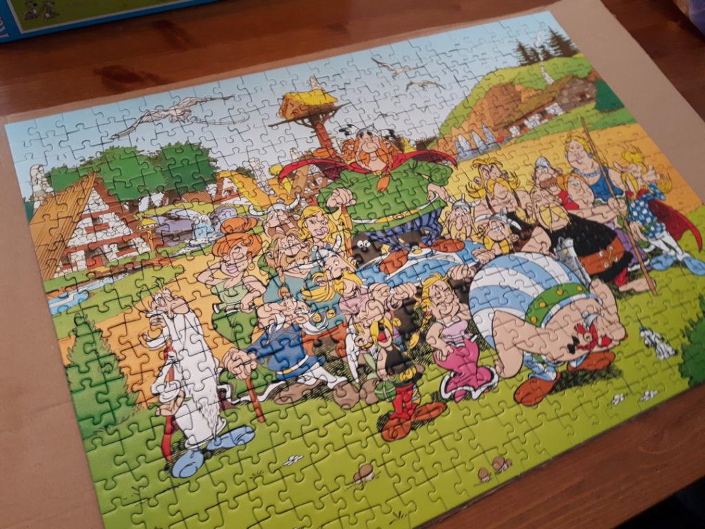 Monatsrückblick - Mamablogger - Puzzle Asterix