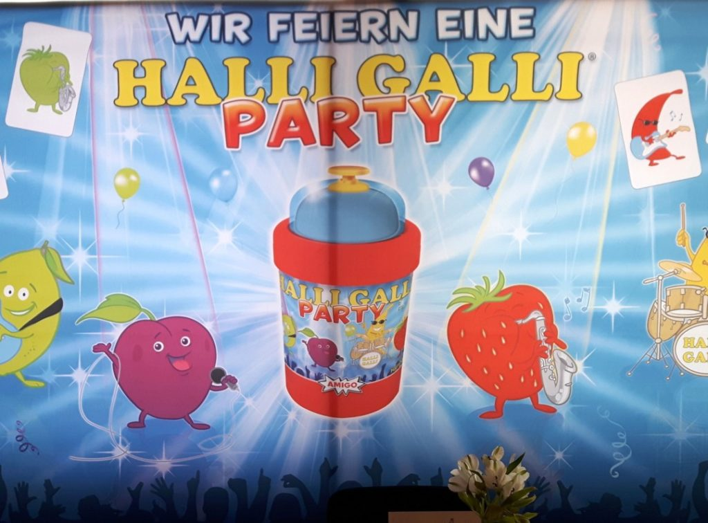 Halli-Galli-Party - Bloggerevent - Spielwarenmesse - Amigo Spiele - 001