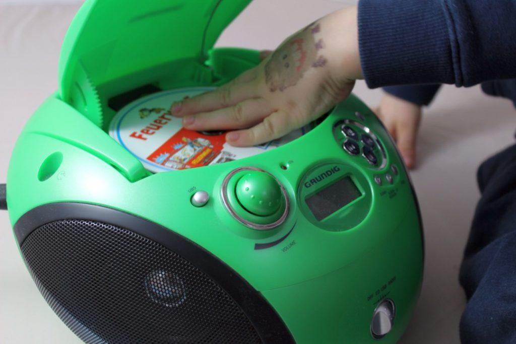 CD Player - Hörspiele hören