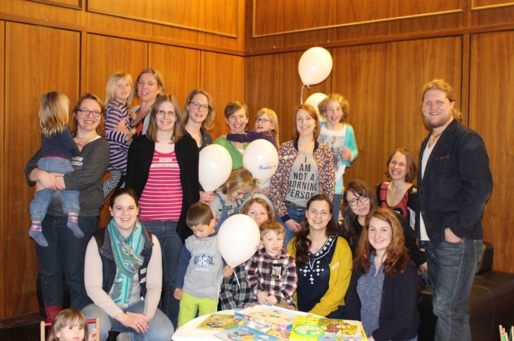 Elternblogger MeetUp Franken - Nürnberg - Teilnehmer - Blogger - Gruppenbild