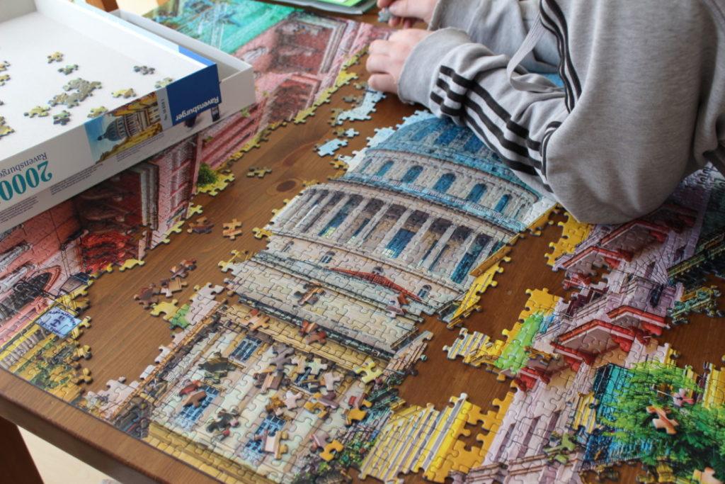 Monatsrückblick März - Puzzle 2000 Teile