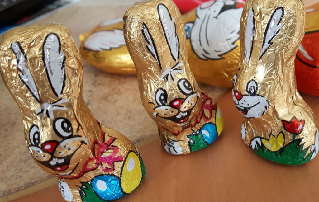 Ostern - Schokoladenosterhasen