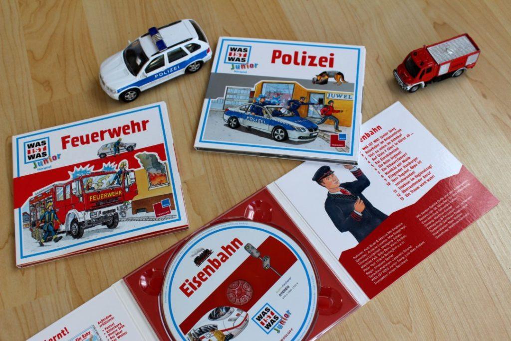 Tessloff Verlag - Hörspiele - Polizei - Eisenbahn