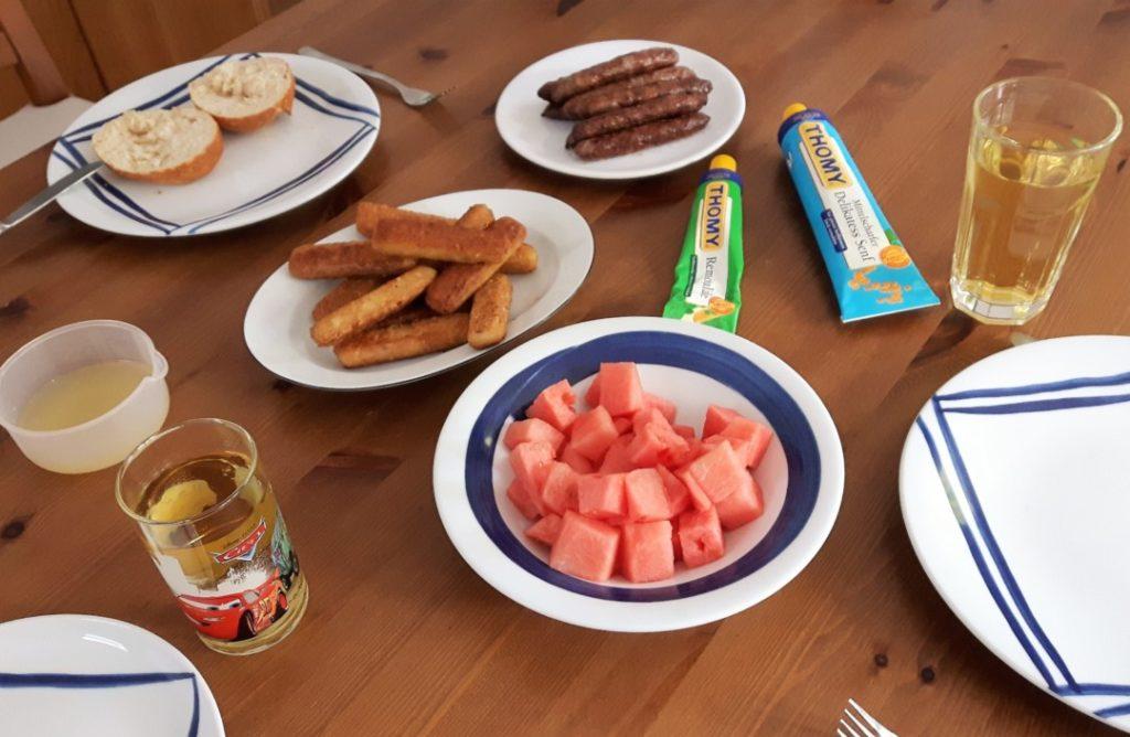 12von12 - Juni - Abendessen