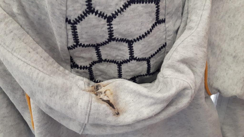 12von12 - Juni - Vogelkacke auf Wäsche