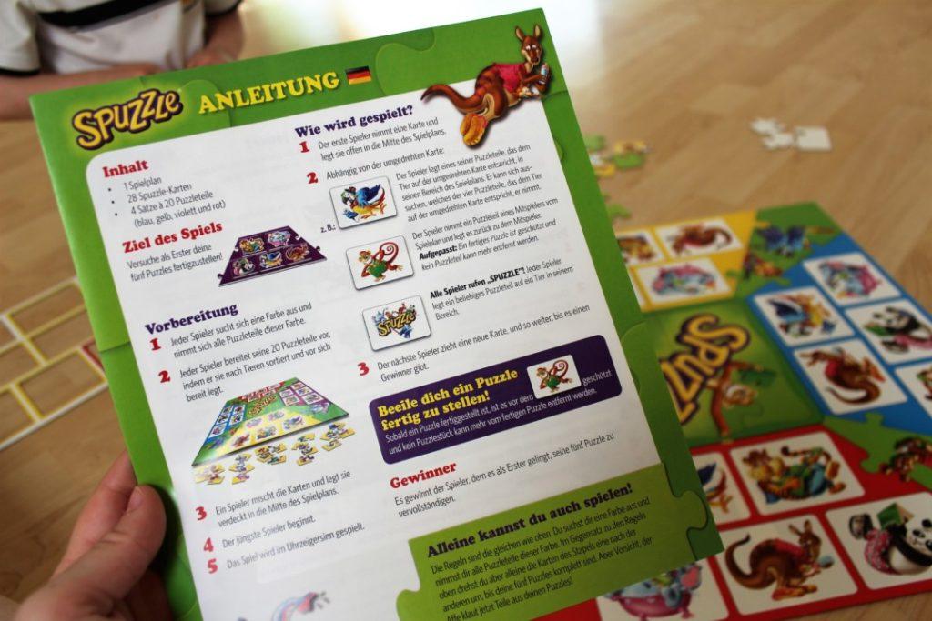 Amigo Spiele Spuzzle - Kinderspiel