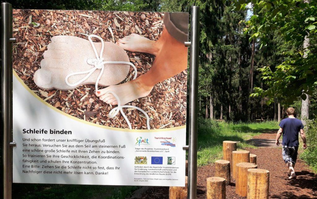 Barfusspfad Spalt Enderndorf - Wanderung - Familienausflug (13)