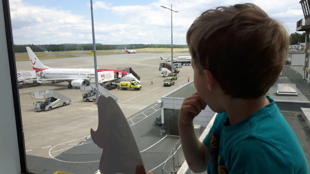 WIB - Flughafenfest Nürnberg Besucherterrasse