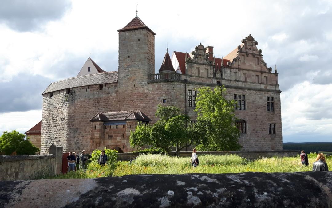 #HohenzollernWalk durch die Cadolzburg – Mittelalter meets Internet