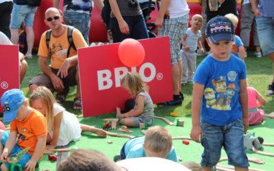 Pyraser Kinderlachen und ein BRIO Weltrekordversuch