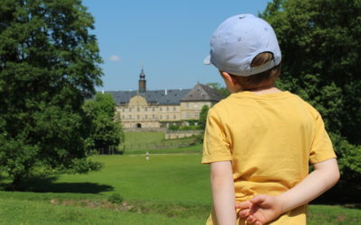Familienausflug in den Wildpark Schloss Tambach