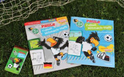 Fußballspaß mit den Mitmach-Heften des Tessloff Verlags (#Verlosung)