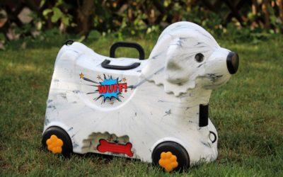 Der perfekte Kinderreisekoffer – Der Bobby Trolley Marble von BIG
