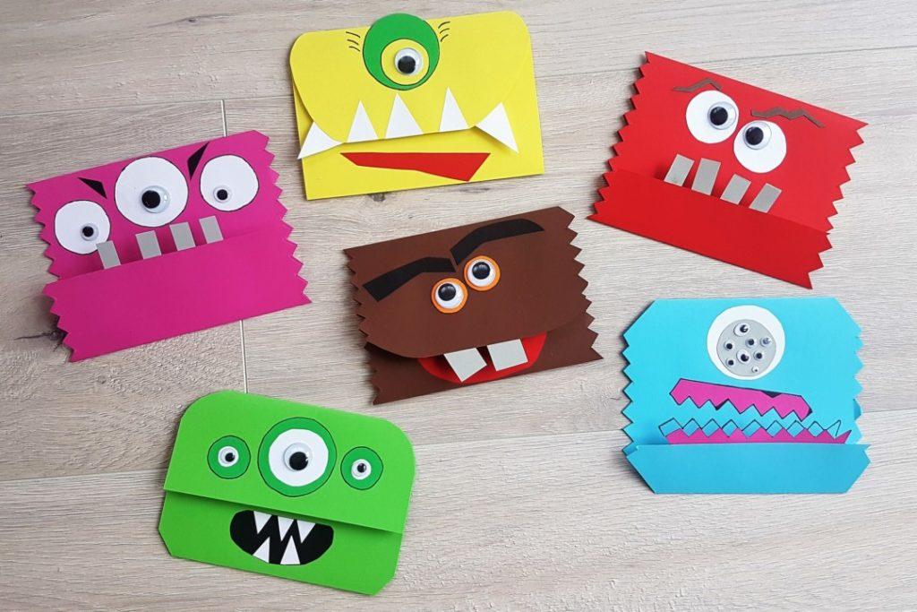 Turbo Einladungskarten basteln für die Monsterparty - Mama geht online BJ04
