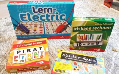 Lernspiele für wissbegierige (Vor-)Schulkinder (#Verlosung)