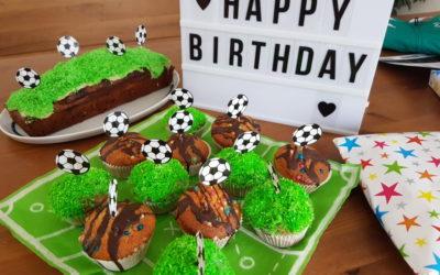 Unsere Fussball-Geburtstagsparty zum 7. Geburtstag