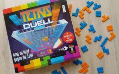 Tetris Duell – Der Videospieleklassiker als Gesellschaftspiel