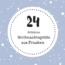 Ein Weihnachtsgruß aus Franken - #Türchen Nr. 24